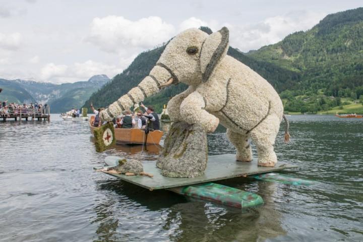 Der Elefant landete sowohl in Bad Aussee als auch am Grundlsee unter den Top Drei.