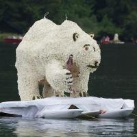 Der Raumberger Eisbär ist los