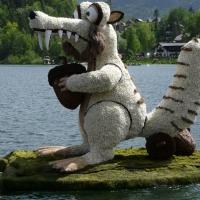 Bootskorso Säbelzahneichhörn