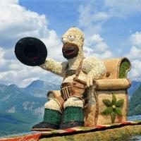 Bootskorso Homer Simpson
